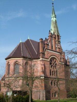 Nach der Sanierung des Daches - 2009