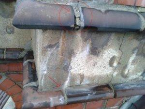 Schäden am Mauerwerk - Januar 2012 (Foto: Konzag)