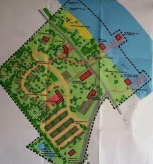 Planungsentwurf Gräbendorfer Strand