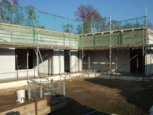 während der Bauarbeiten - 23.11.2012