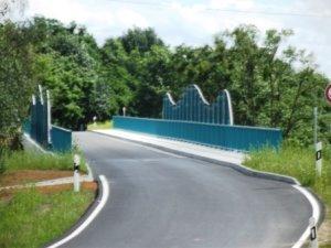 neue Brücke - Juli 2012