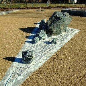 Sprudelstein auf dem Brunnenplatz