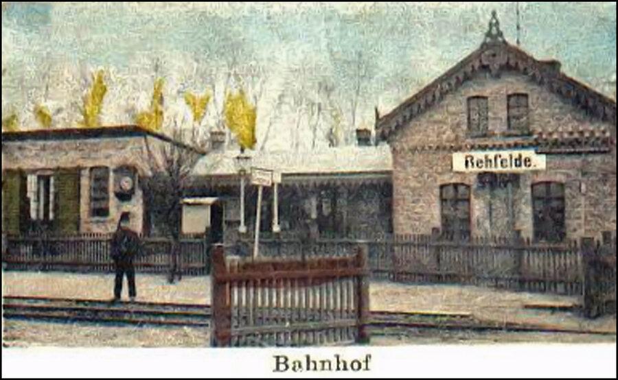 Bahnhof 1874