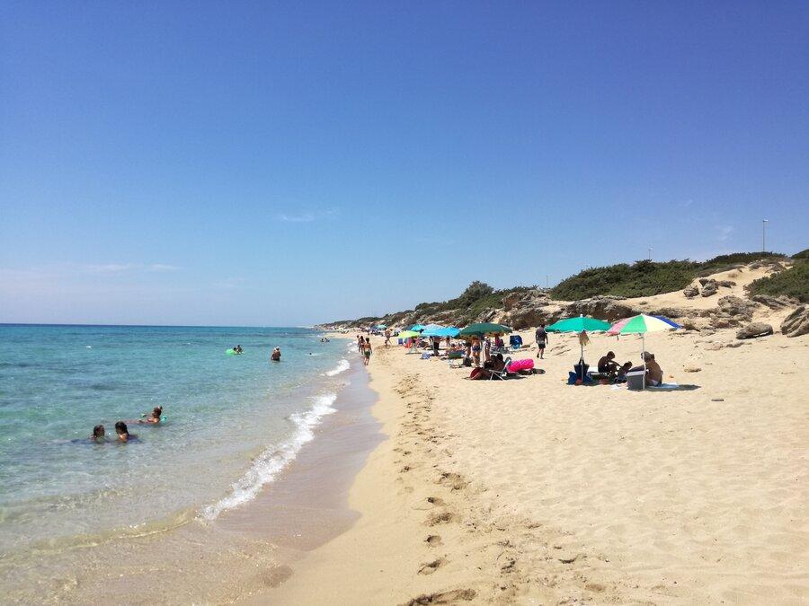 Strand zwischen Campomarino und Torre Borraco