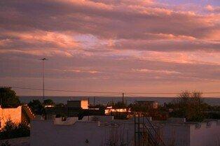 Sonnenuntergang über San Pietro