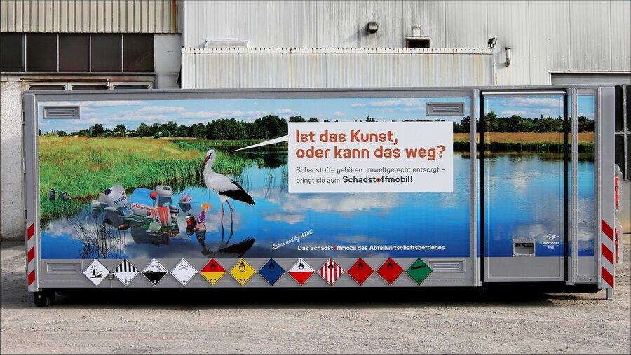 Das Schadstoffmobil des AWB