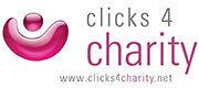 Einkaufen und helfen - Logo Clicks4charity