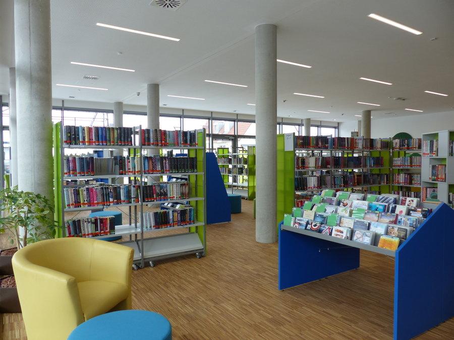 Bücherei Ansicht innen