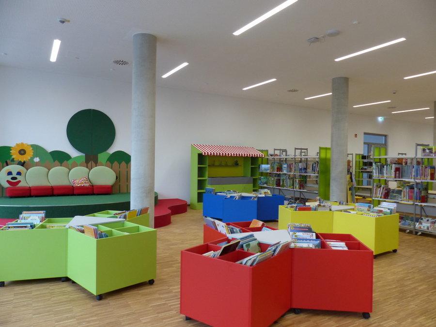 Bücherei Lesegarten