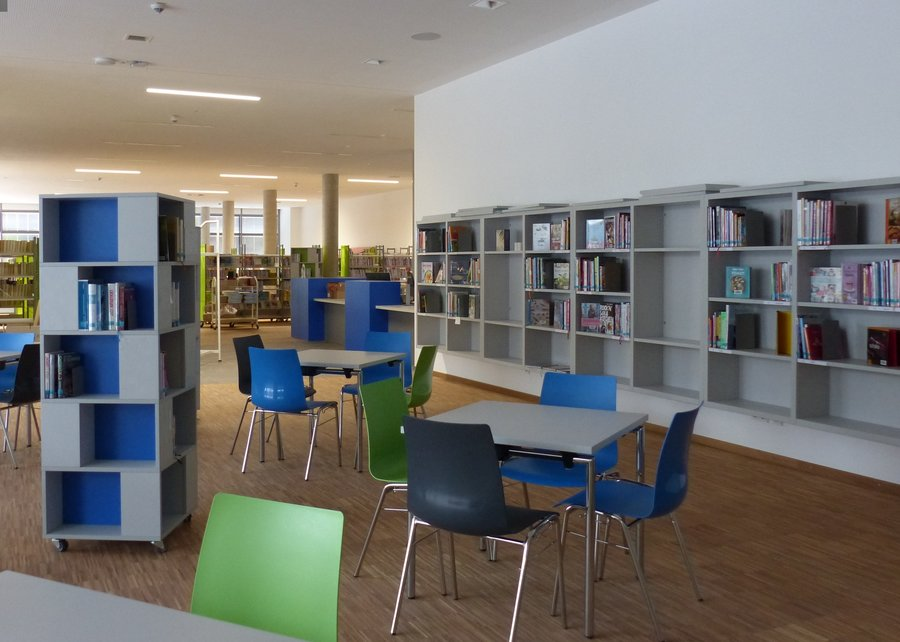 Bücherei Treffbereich