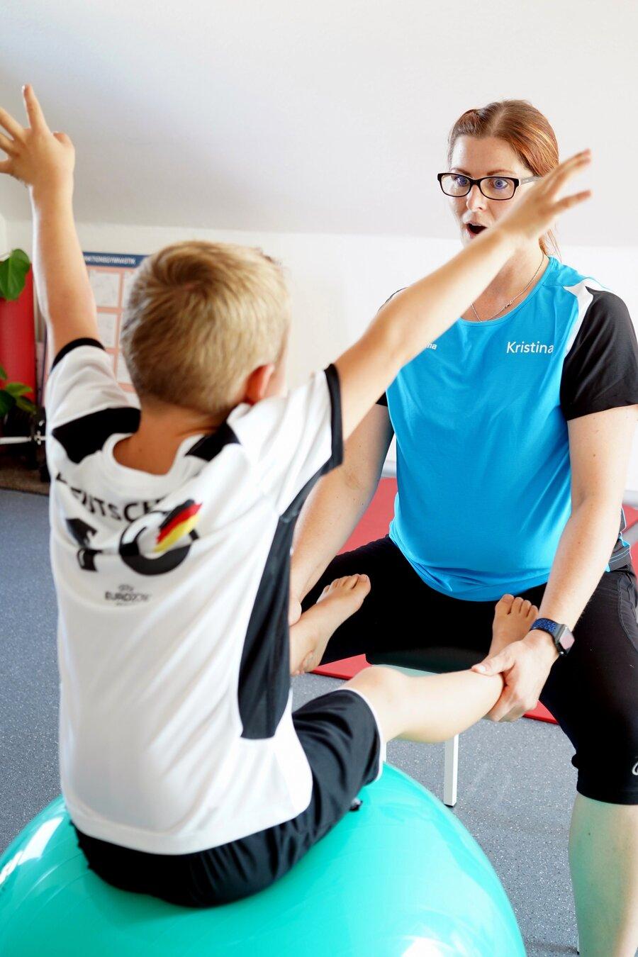 Physiotherapie bei Kindern