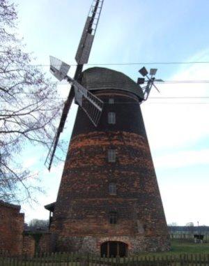 historische Mühle - November 2012