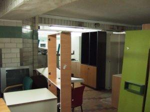 zukünftiger Multifunktionsraum - bis 2013 noch als Abstellkammer genutzt