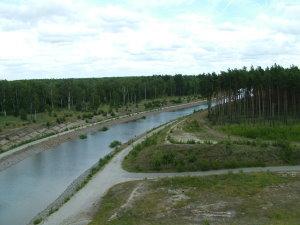 Blick auf den Sornoer Kanal