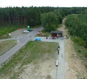 zukünftiger Standort der WCs - Juli 2011