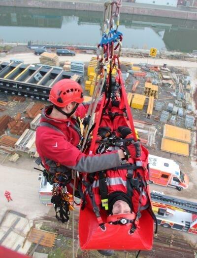Übung Höhenrettung