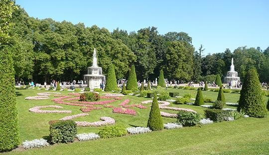 Beispiel barocker Gartenkunst