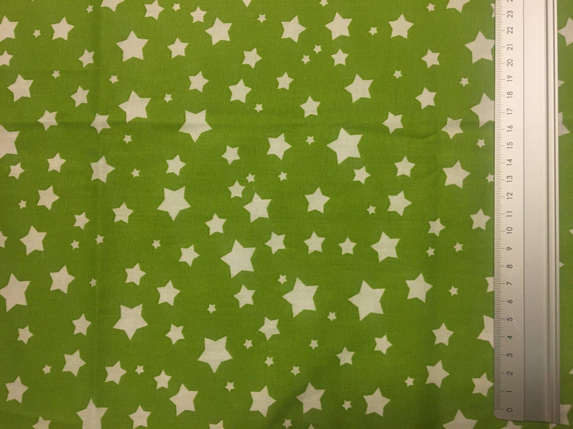 Motiv 3 grün mit Sternen