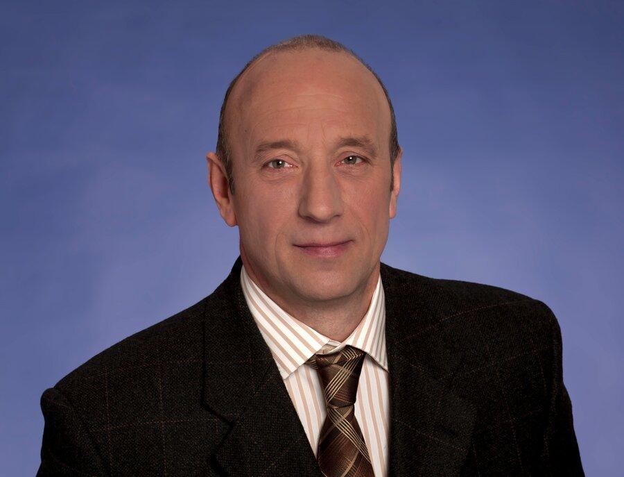 Frank Schmidt, Bürgermeister der Stadt Auma-Weidatal