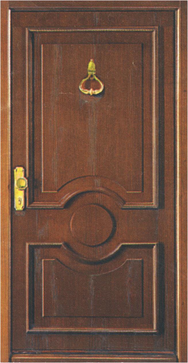 Klassik-Haustür 303