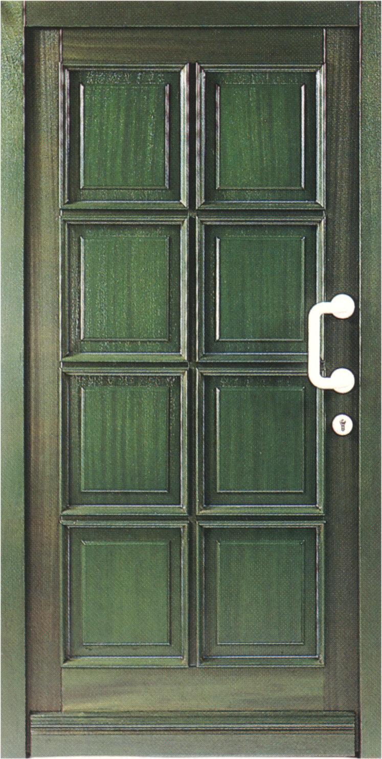 Klassik-Haustür K601