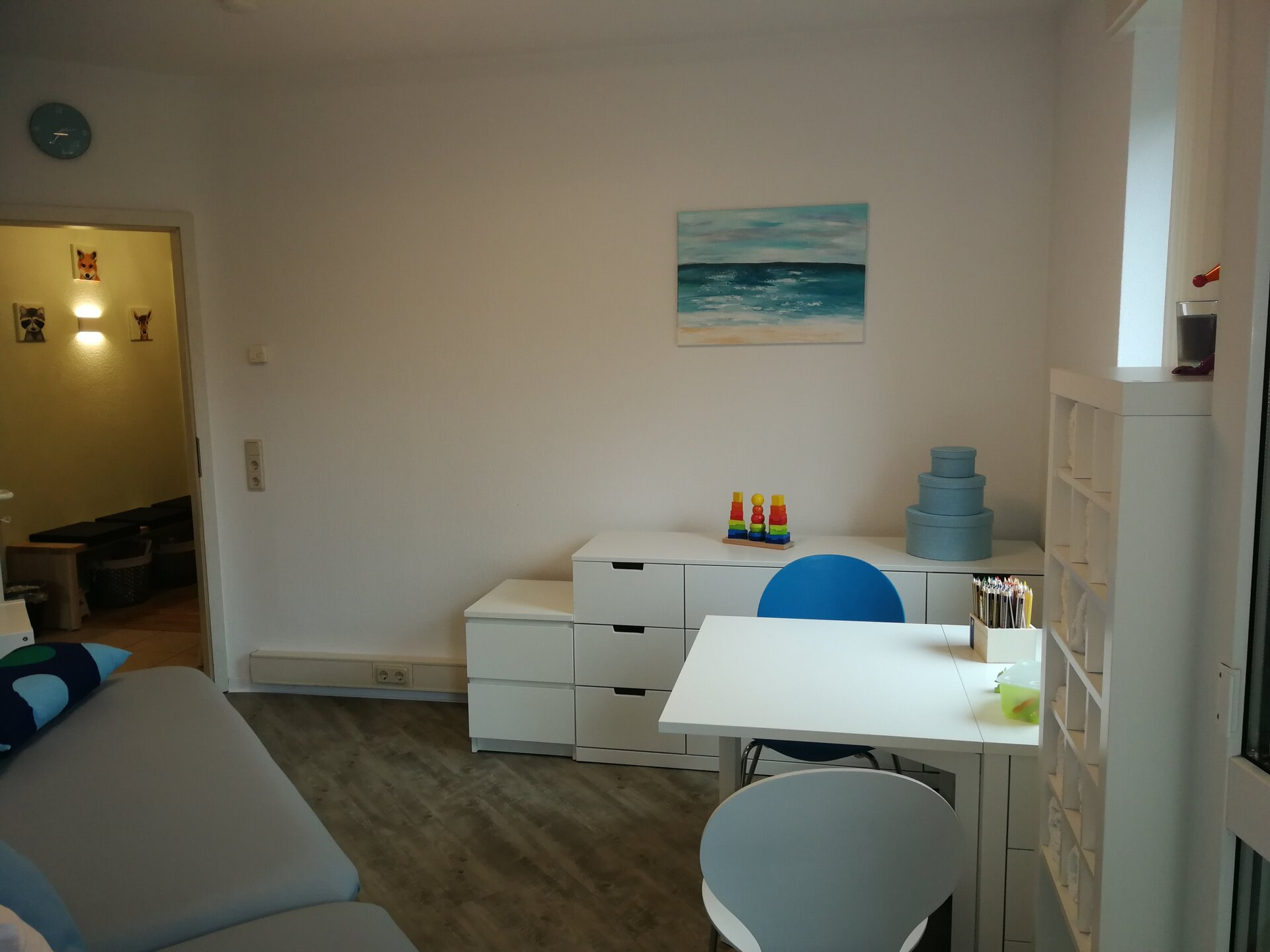 Therapieraum 2: Neurologieraum / Hirnleistungstraining