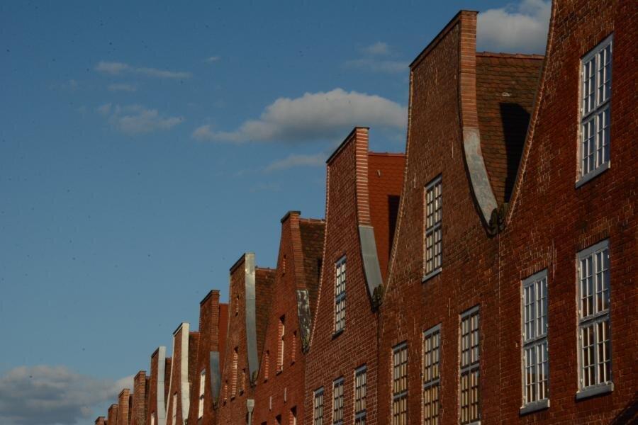 Giebelfront Holländisches Viertel