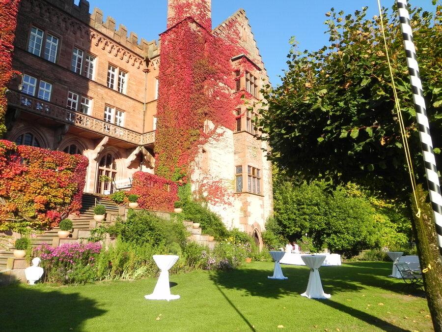 Hochzeit auf einen Schloss