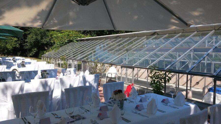 Tisch an einer Hochzeit