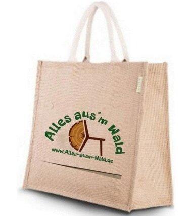 Unsere Brennholztasche...