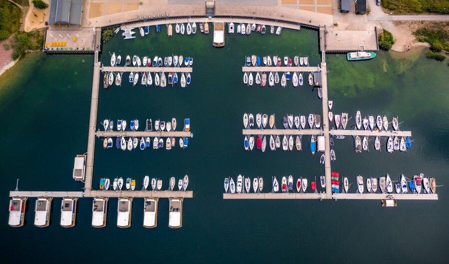 Hafenliegeplätze