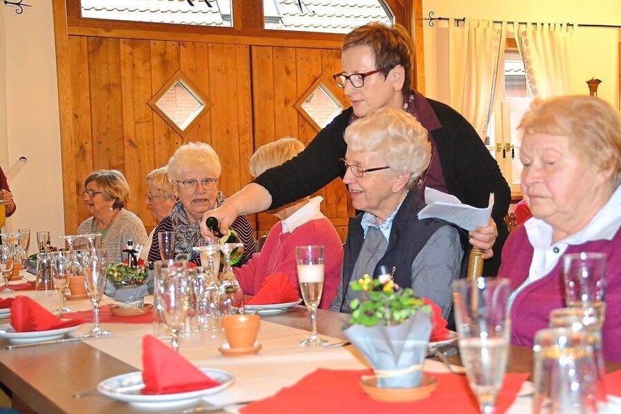 Neujahrsempfang der Seniorenwandergruppe