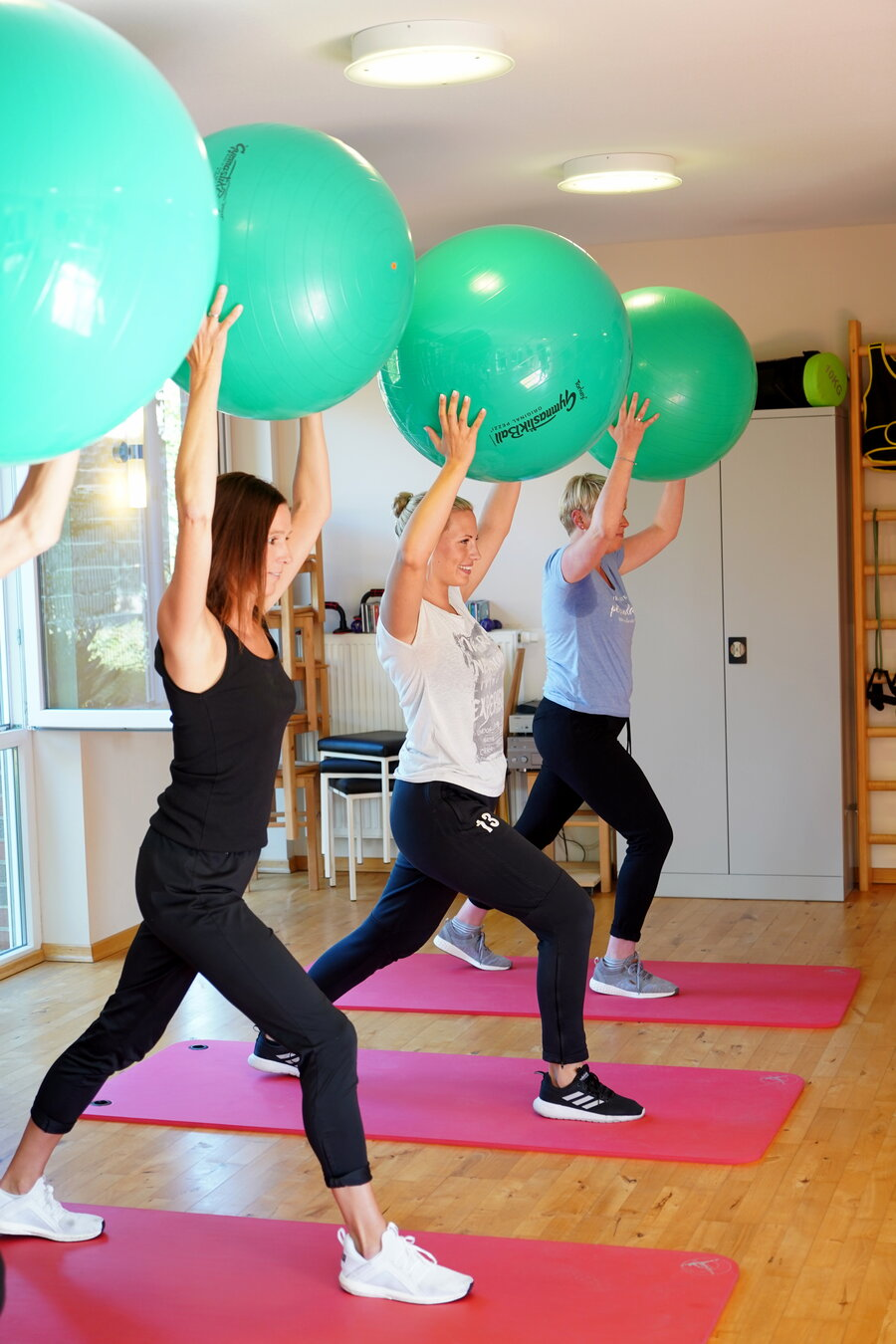 Fitnesszentrum- Fitnesskurse