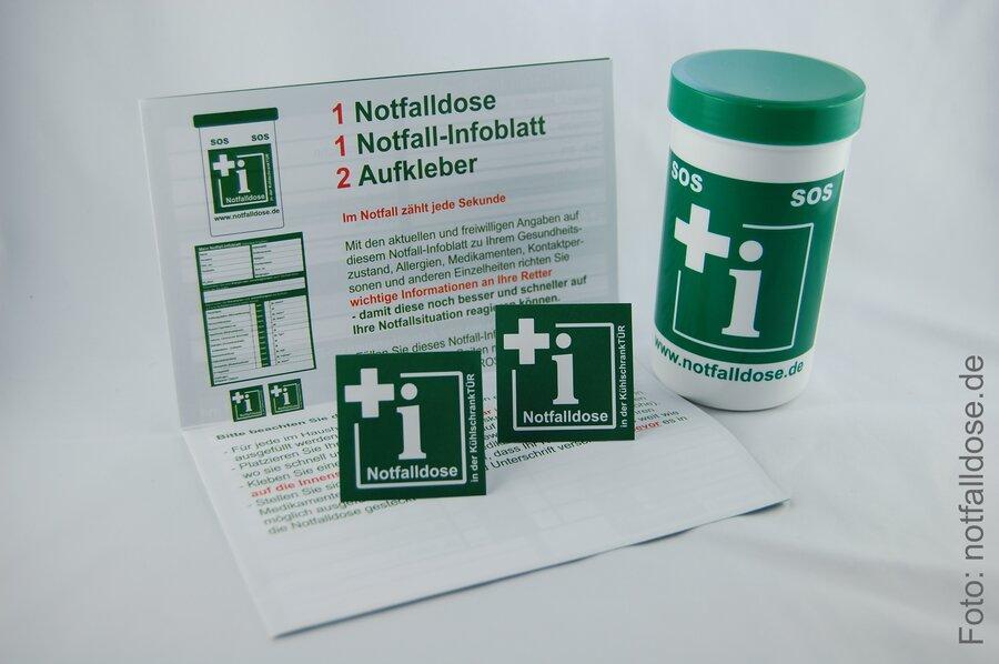 Notfalldose - Set