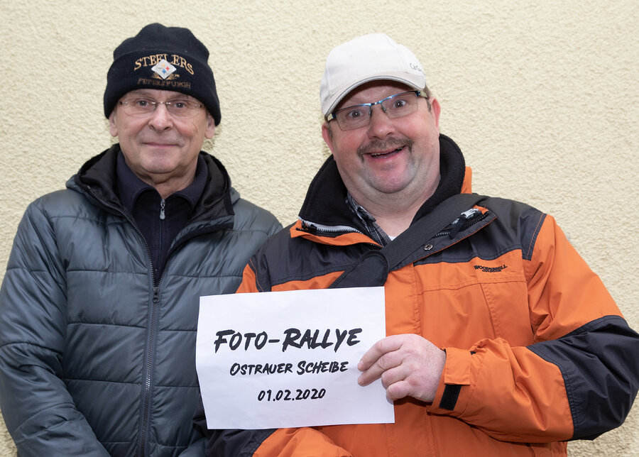 Frank & Peter S.
