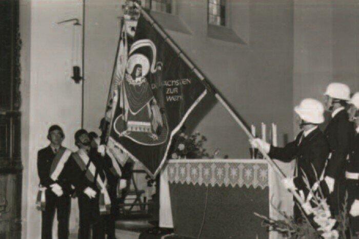 Fahnenweihe 1977