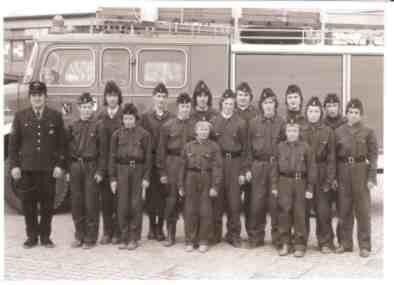 Jugendfeuerwehr 1974