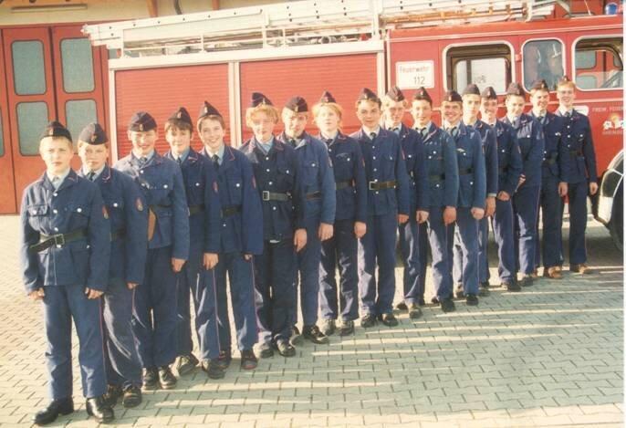 Jugendfeuerwehr 1990