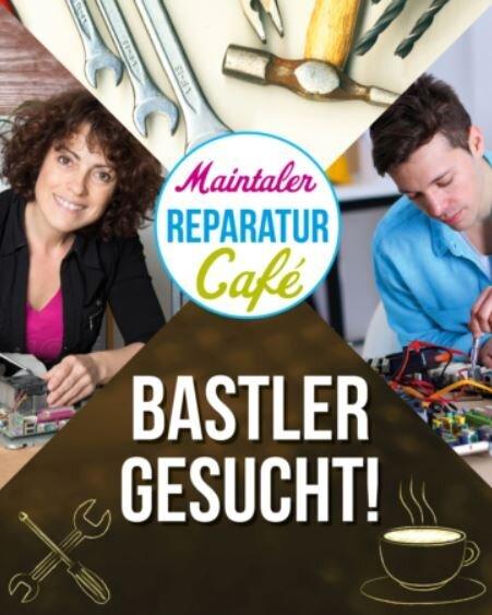Bild zeigt Plakat zum Reparaturcafé