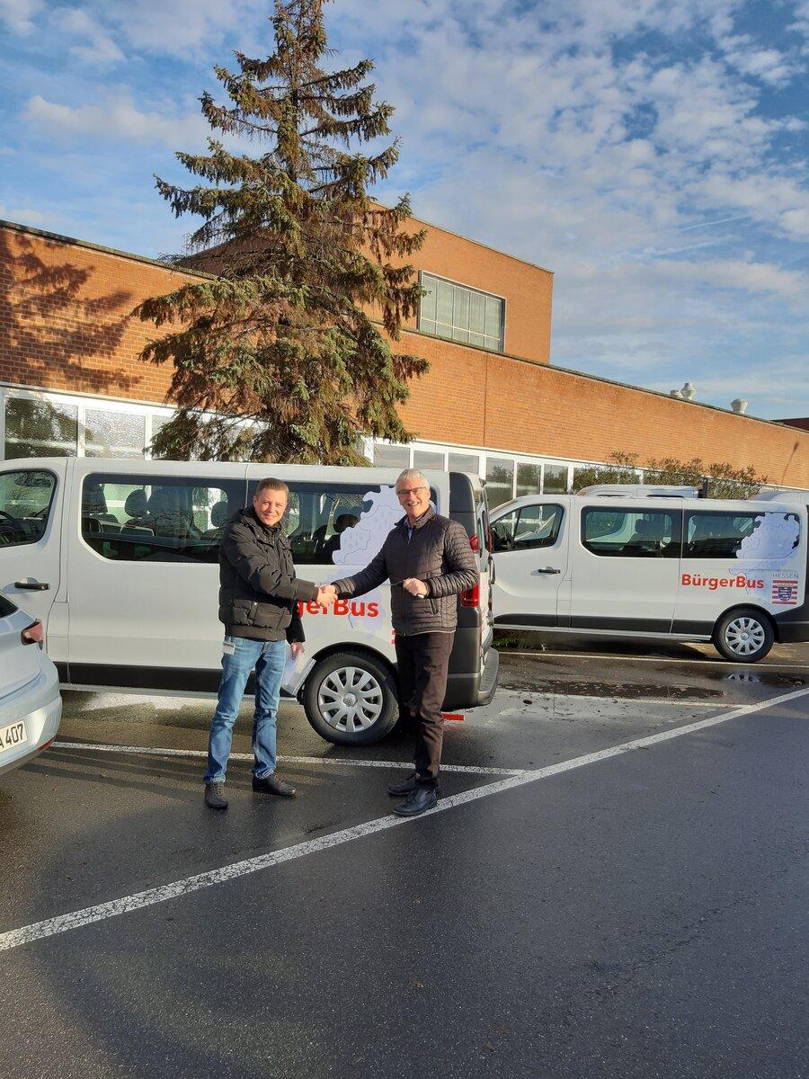 Bürgerbusübergabe in Rüsselsheim