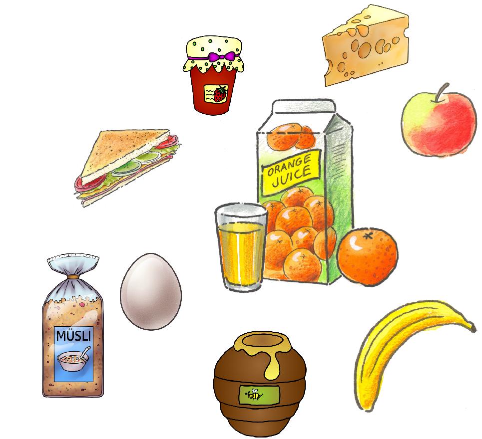 gesund frühstücken
