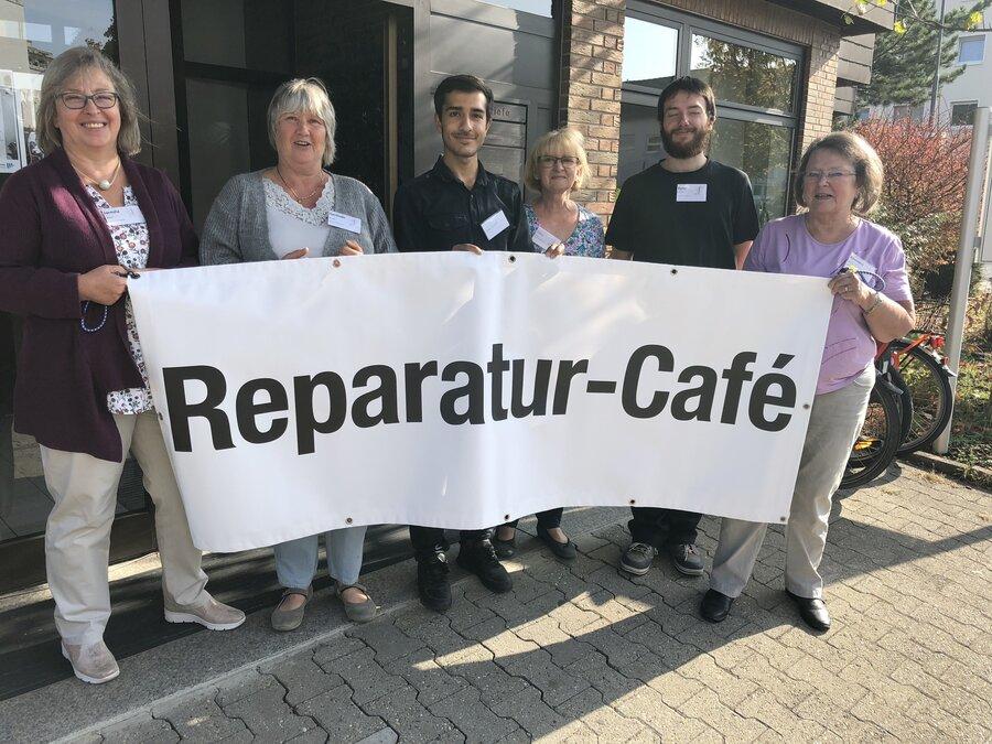 Bild Reparaturcafé 2018; Foto: Stadt Maintal
