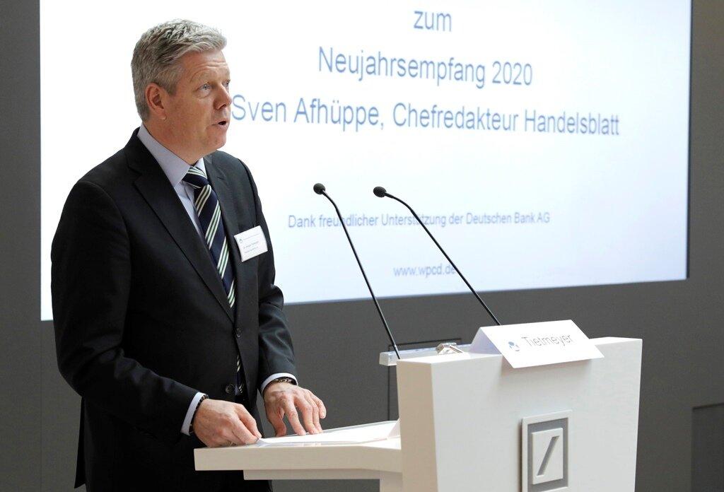 WPCD-Präsident Dr. Ansgar Tietmeyer