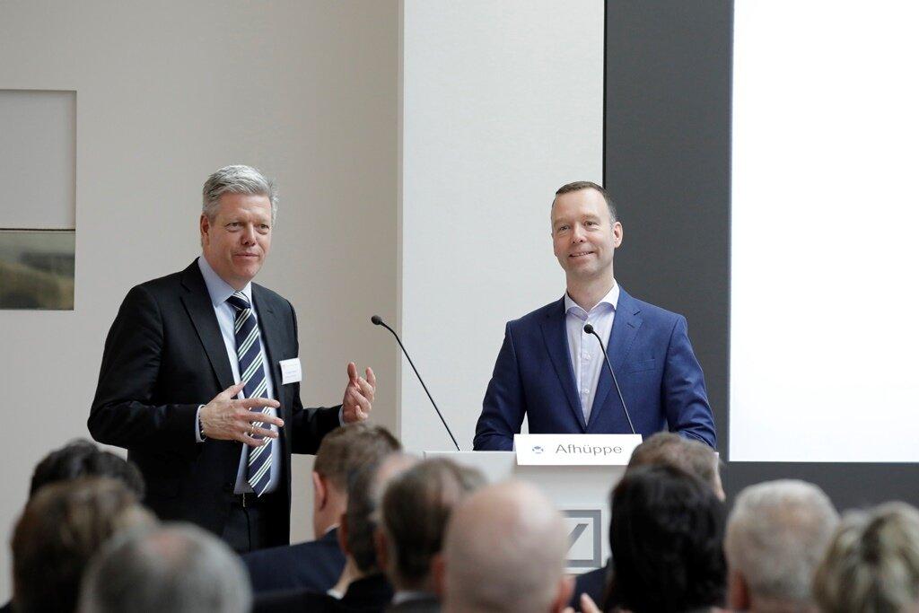 Dr. Ansgar Tietmeyer (l.) und Sven Afhüppe (r.)