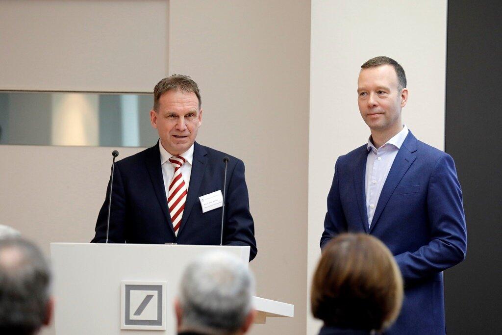 MP a.D. Dieter Althaus (l.) und Sven Afhüppe (r.)