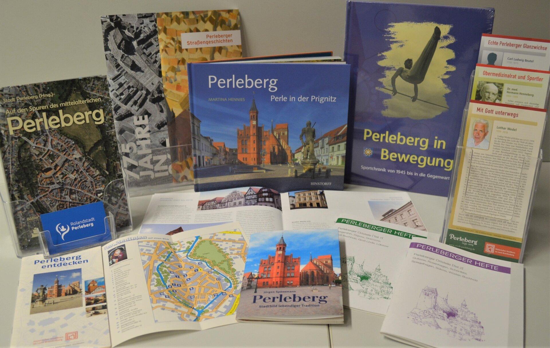 Publikationen der Stadt Perleberg