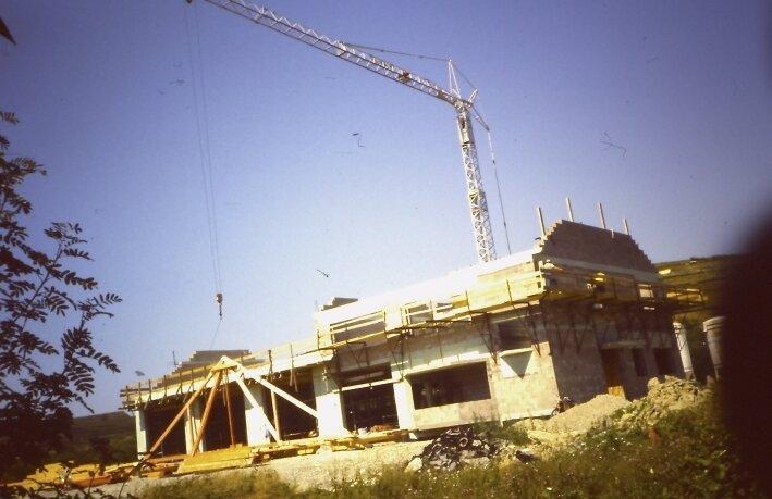 Gerätehaus im Bau