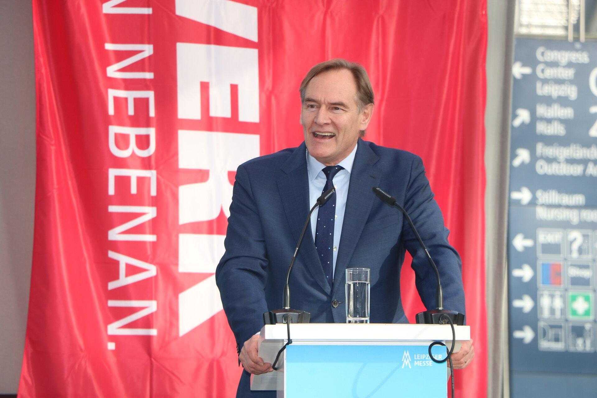 Eröffnnung der mhm 2020 durch OBM Burkhardt Jung