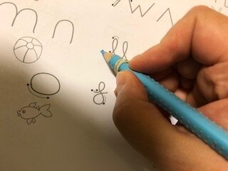 Schreibübung