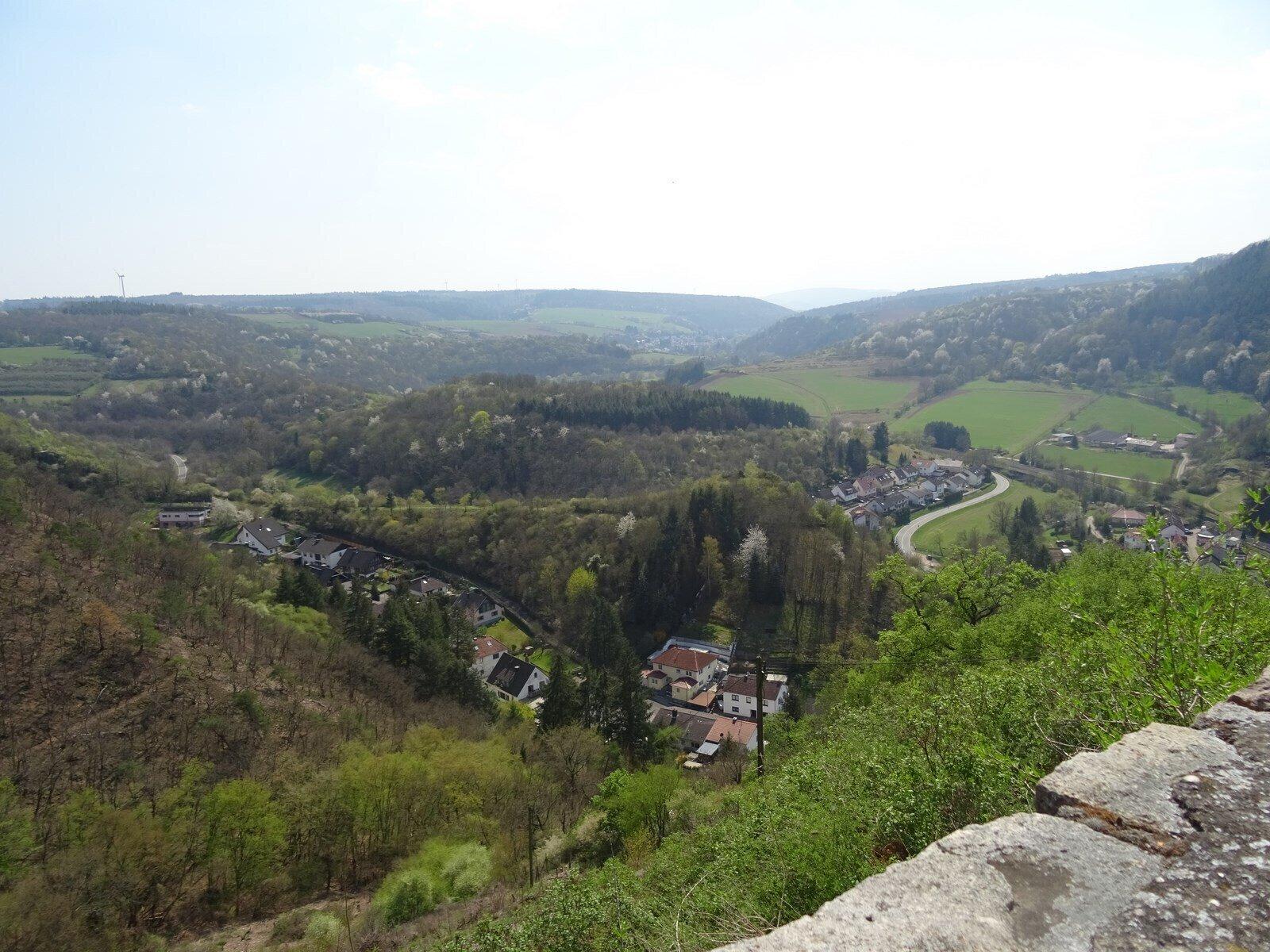 Blick von der Altenbaumburg